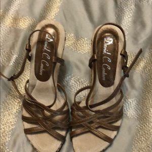 Shoes - David C Couture handmade sandal pump